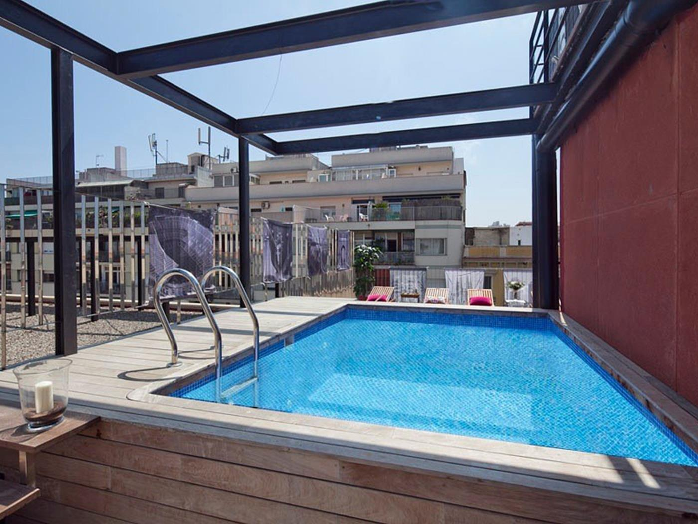 Barcelona Apartment Arc de Triomf with Pool - My Space Barcelona Aпартаменты