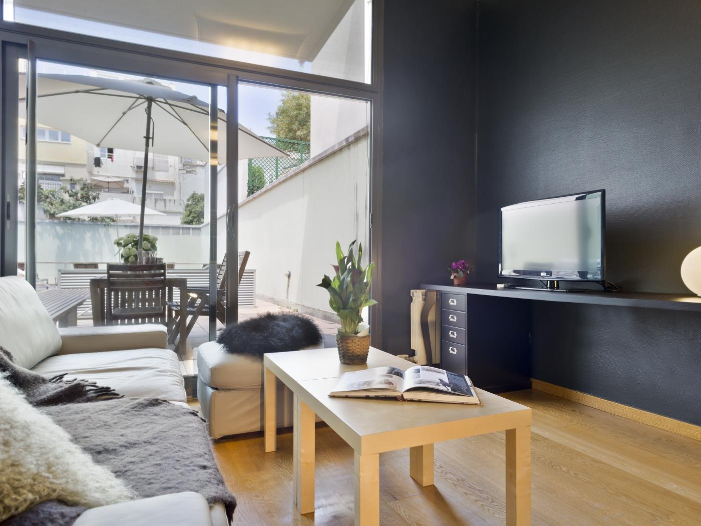 Gracia loft with privatve terrace and shared pool - My Space Barcelona Aпартаменты
