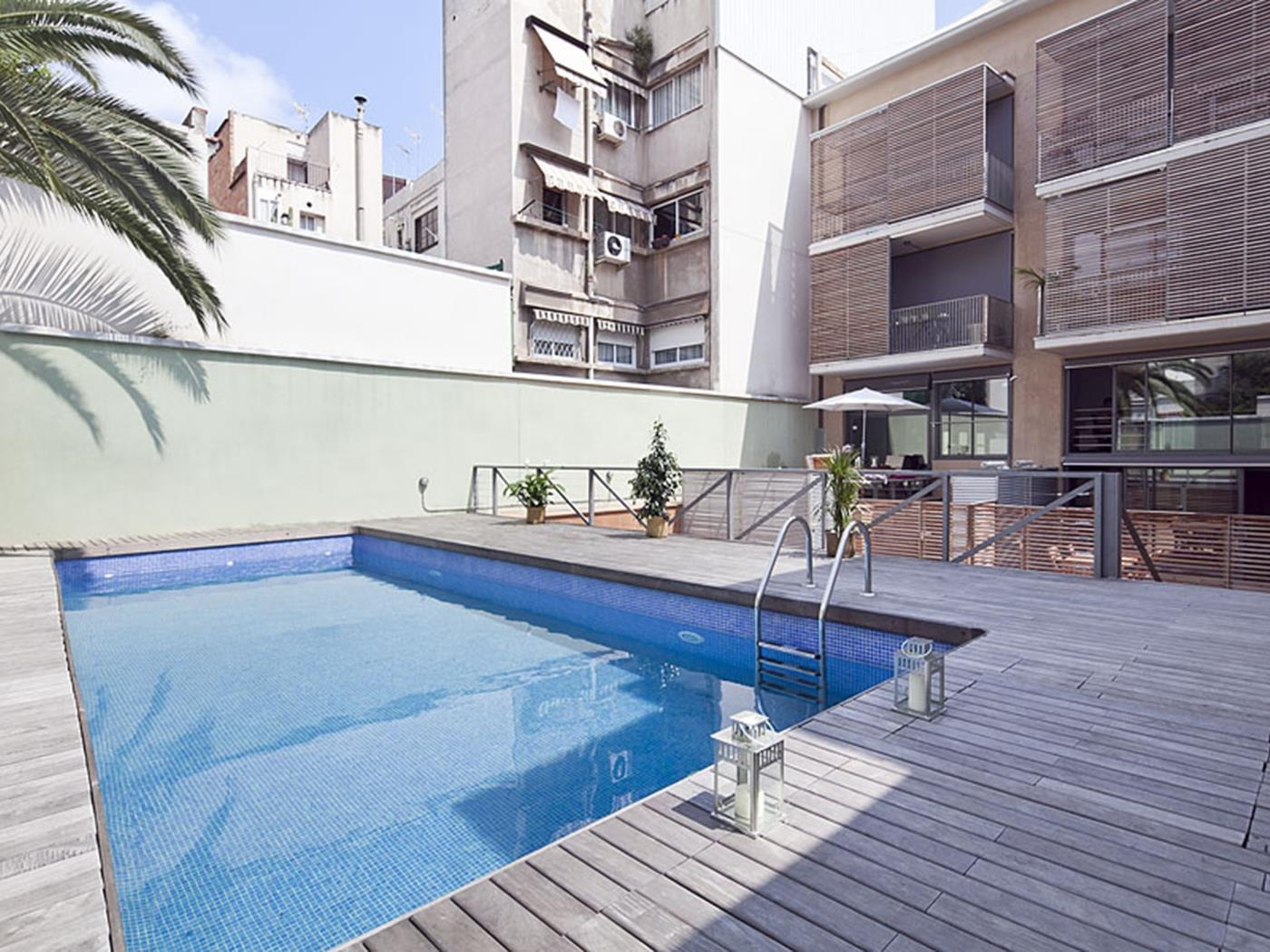 Gracia Penthouse with pool II - My Space Barcelona Aпартаменты