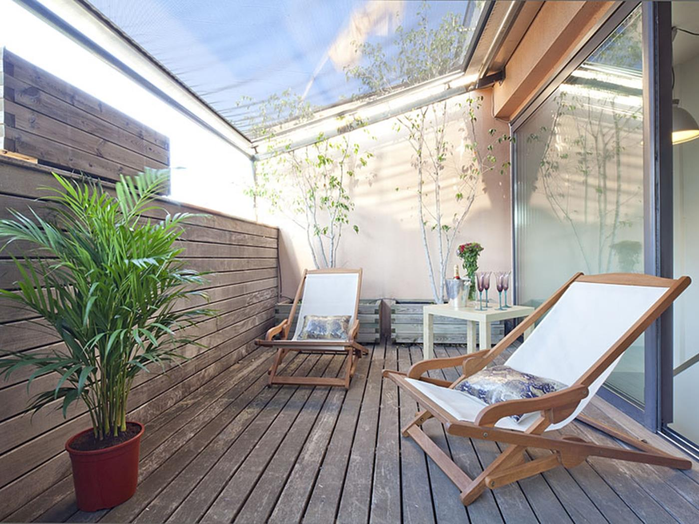 Attic Apartment in Bonanova with Private Terrace - My Space Barcelona Aпартаменты