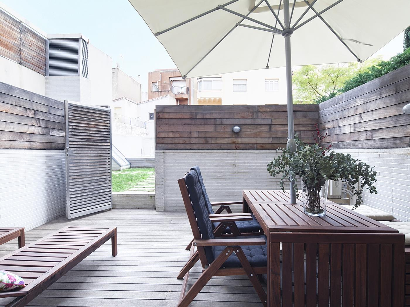 Terrace and Swimming Pool near Barcelona Center - My Space Barcelona Aпартаменты