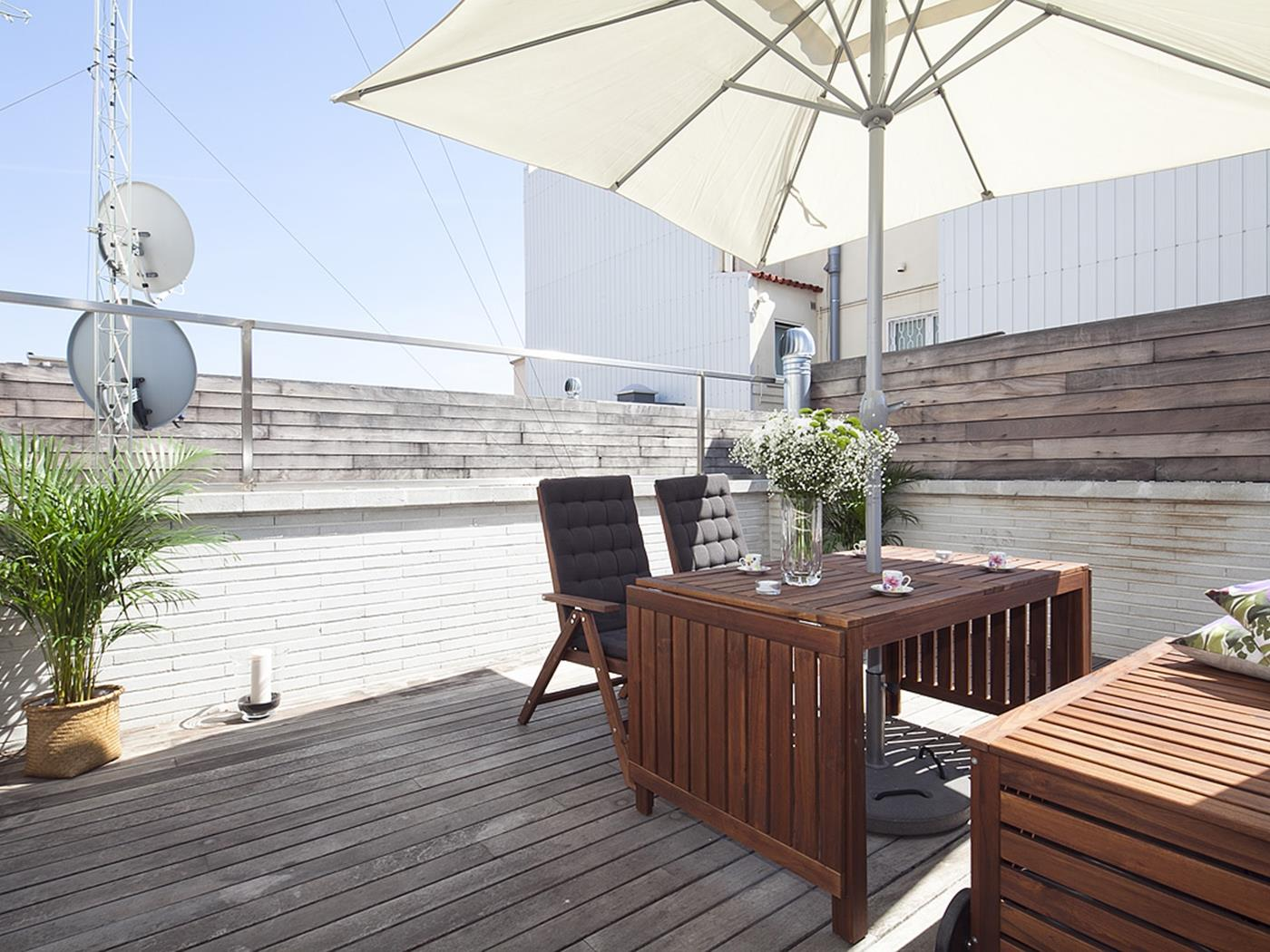 Penthouse with Terrace and Pool near City Center - My Space Barcelona Aпартаменты